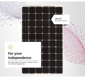 Solar panel SHARP 300 Wp NU-RC290 Mono