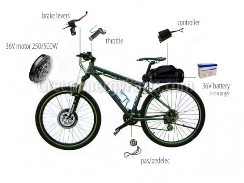 super electric bicycle conversion kit