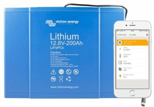 Victron Lithium Smart 12-200