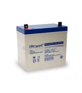 Ultracell UCG GEL 12V - 55AH GEL