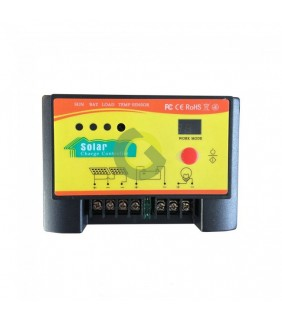 Charge controller 10A with light sensor