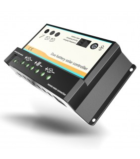 Charge controller EPSOLAR DUO 12V/24V - 20A PWM