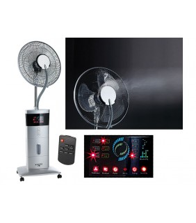 High-end fan with spray, Ionizer & Anti-mosquito function
