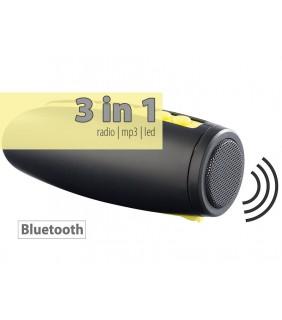 Ραδιόφωνο + MP3 + Φακός Super LED
