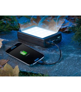 Powerbank 11.000 mAh με φωτιστικο Camping 20 SUPER LED