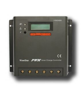 Charge controller 12V/24V - 60A PWM