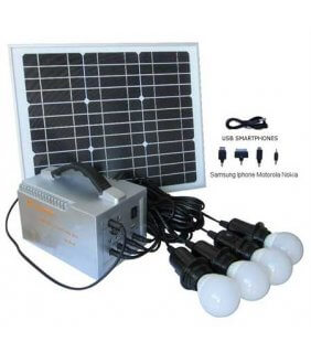 westech solar camping led set